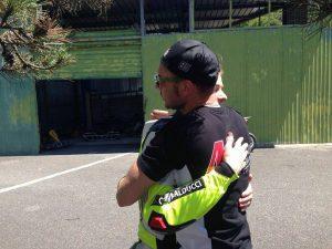 Kevin Sabatucci e Stefano Giraldi a Rieti per il Campionato Tirreno Adriatico